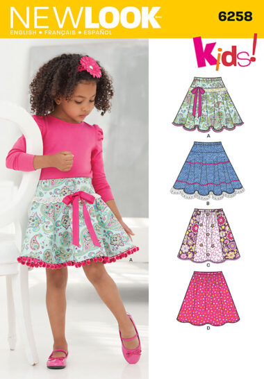 New Look 6258 Sewing Pattern