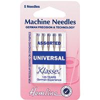 Universal Assorted Sewing Machine Needles