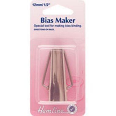 Hemline Bias Tape Maker Sizes 6mm 12mm