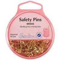 Brass Safety Pins