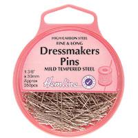 30mm Dress Makers Pins Nickel