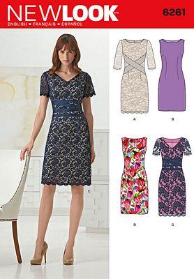 New Look 6261 Dress Pattern