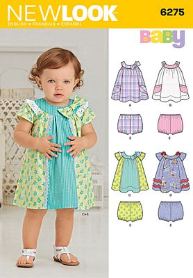 New Look 6275 Sewing Pattern