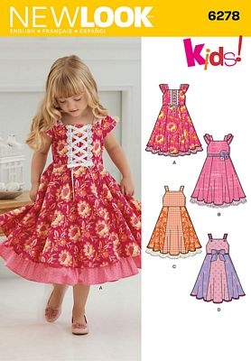 New Look 6278 Sewing Pattern