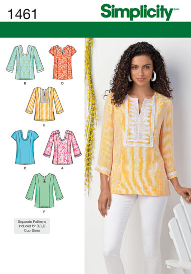 Simplicity 1461 Top Sewing Pattern