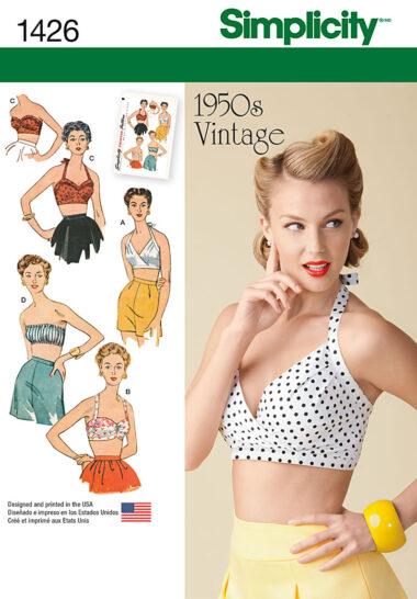 Simplicity 1426 Vintage Sewing Pattern