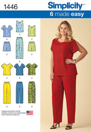 Simplicity 1446 Sewing Pattern