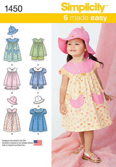 Simplicity 1450 Sewing Pattern