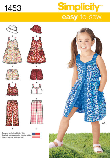 Simplicity 1453 Sewing Pattern