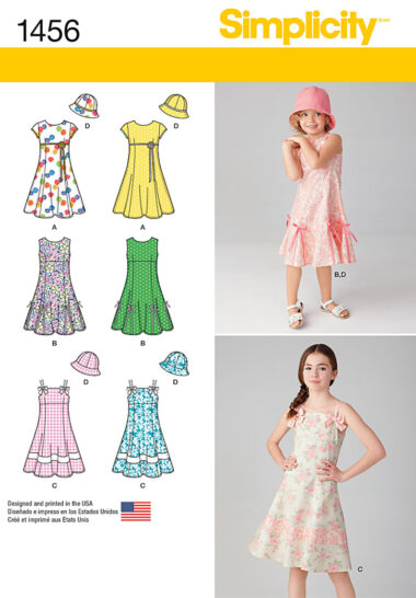 Simplicity 1456 Sewing Pattern