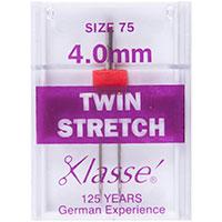 Klasse Machine Needles Twin Stretch 75