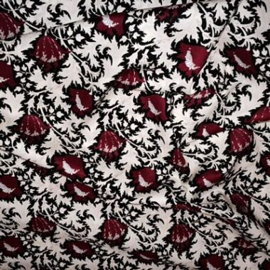 Scarlet Flower Tana Lawn Dress Fabric