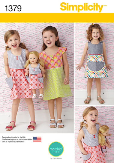 Simplicity 1379 Sewing Pattern