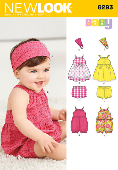 New Look 6293 Sewing Pattern