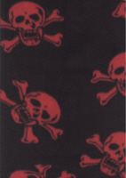 Red Skull And Crossbone