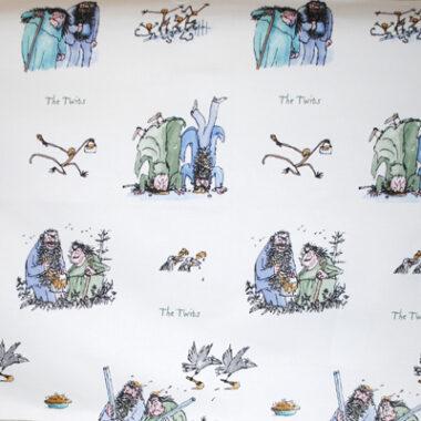 The Twits Roald Dahl Fabric