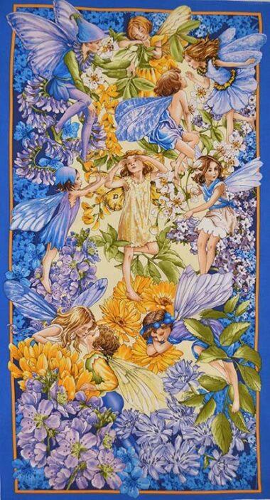 Dawn Till Dusk Flower Fairies Panel