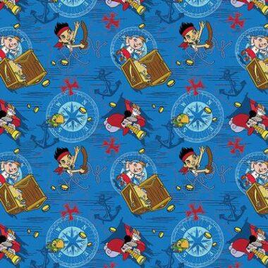 Jake And The Neverland Pirates Disney Fabric