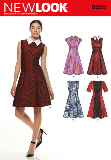 New Look 6299 Sewing Pattern