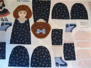 Victoria Doll Panel