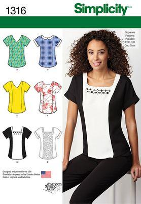 Simplicity 1316 Dress Sewing Pattern
