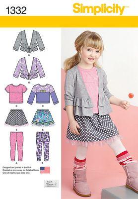 Simplicity 1332 Dress Sewing Pattern