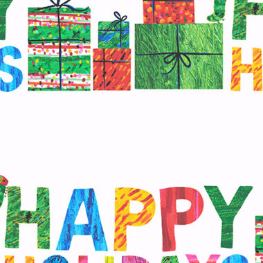 The Very Hungry Caterpillar Happy Christmas