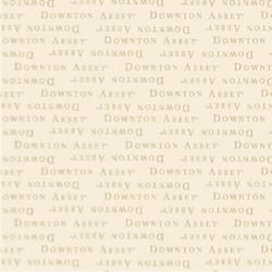 Downton Abbey Text Cream Collection