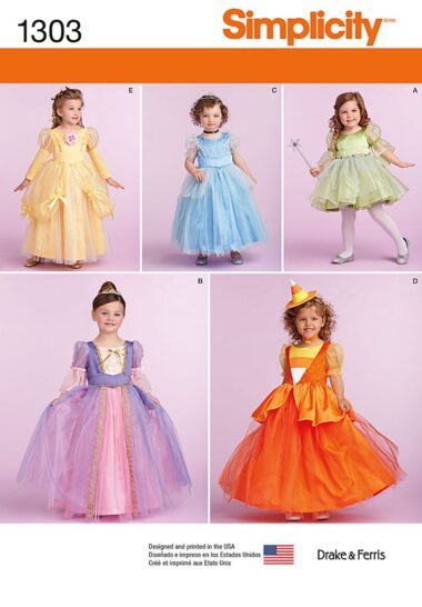 Simplicity 1303 Dress Sewing Pattern