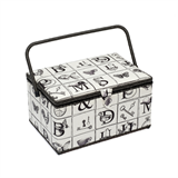 Extra Large Alphabet Sewing Basket