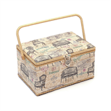 Extra Large Vintage Chairs Sewing Basket