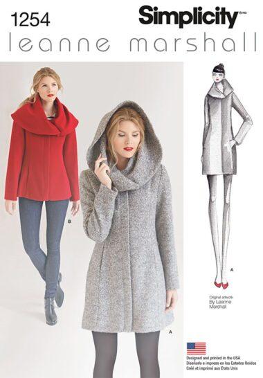 Simplicity 1254 Dress Sewing Pattern