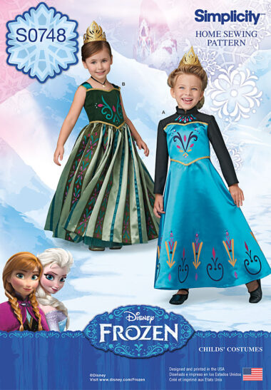 Simplicity 0748 Frozen Sewing Pattern