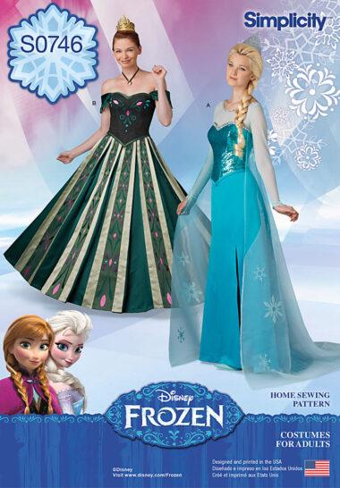 Simplicity 0246 Frozen Disney Sewing Pattern