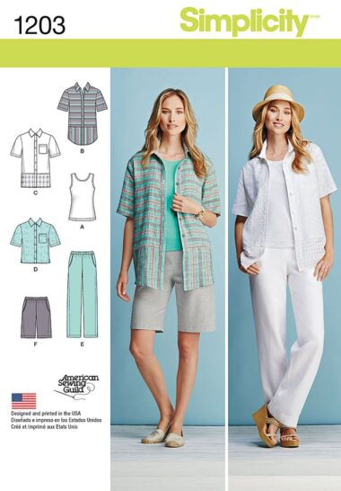 Simplicity 1203 Seperates Sewing Pattern