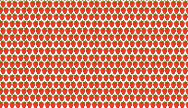 Makower Juicy Strawberries Cotton Fabric