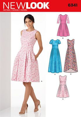 New Look 6341 Dress Sewing Pattern