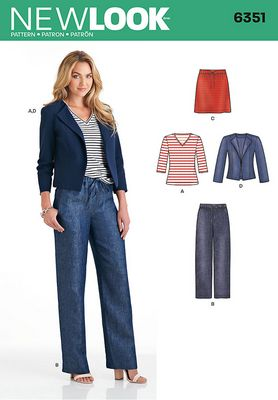 New Look 6351 Sewing Pattern