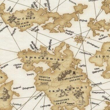 Medievel Map Timeless Treasures George McCartney
