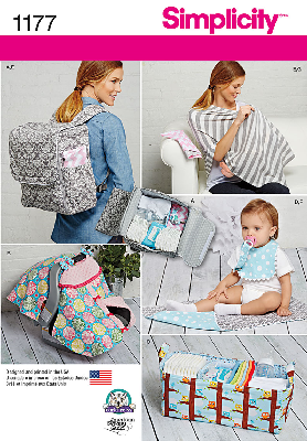 Simplicity 1177 Babie Accessories Sewing Pattern