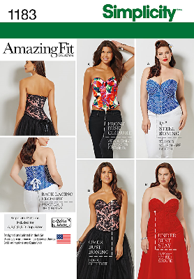 Simplicity 1183 Corset Sewing Pattern