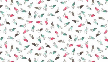 Cats Mice Makower Cotton Fabric