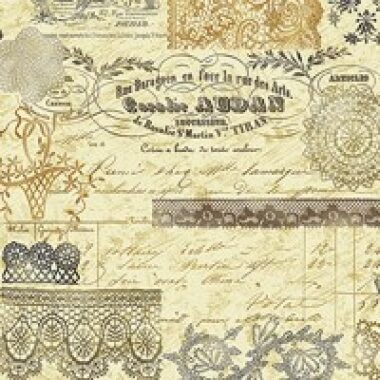 Sew Vintage Print Benartex