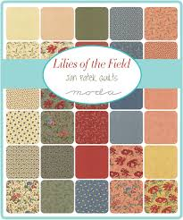 Lilies Of The Field Charm Pack Moda