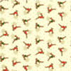 Christmas Novelty Makower 1512 Reindeers