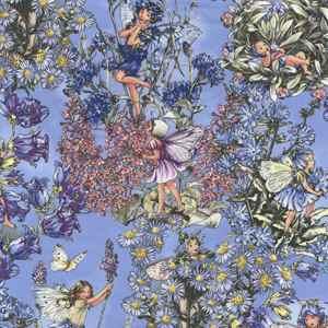 Flower Fairies Periwinkle Michael Miller Fabric