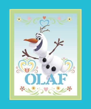 Olaf Dancing Fabric Panel