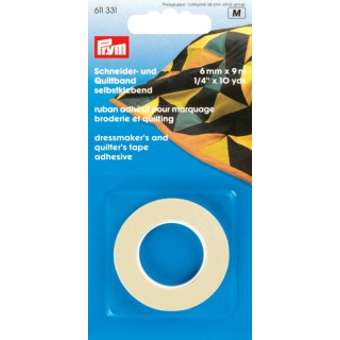 Dressmakers and Quilters Prym Self Adhesive Tape