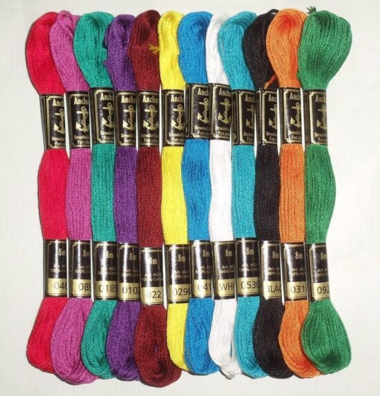 Anchor Embroidery Skeins Special 10