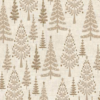Scandi 111 Trees Makower Christmas Fabric